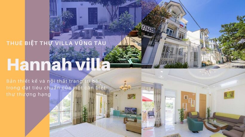 20 Biệt thự villa Vũng Tàu giá rẻ đẹp view biển cho thuê nguyên căn