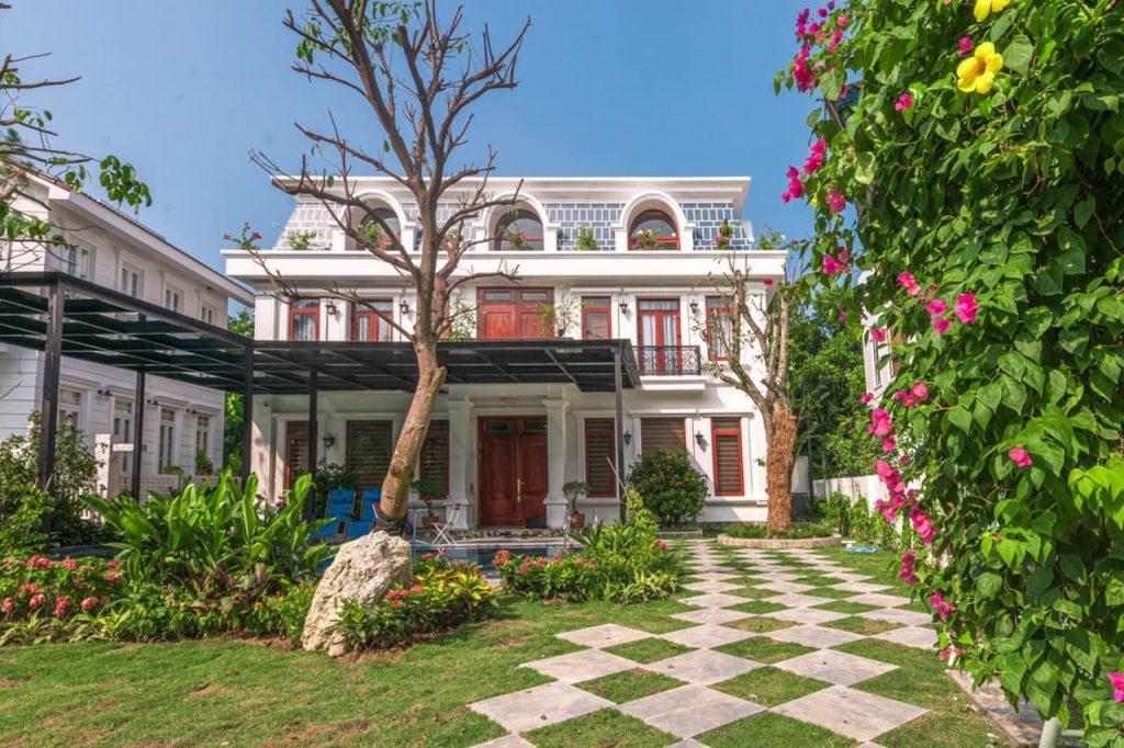 Top 15 Biệt thự Flamingo Đại Lải villa view đẹp có hồ bơi nguyên căn
